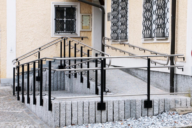 Modernes Geländer