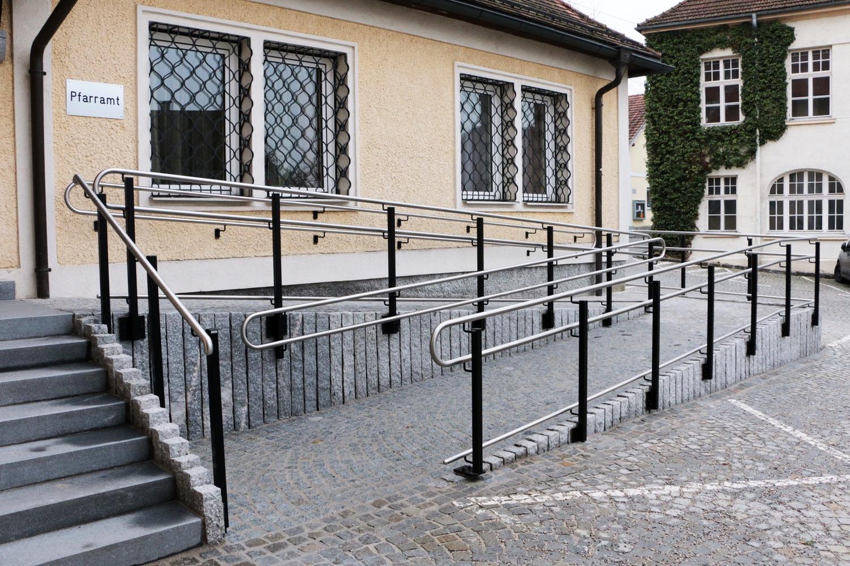Geländer modern