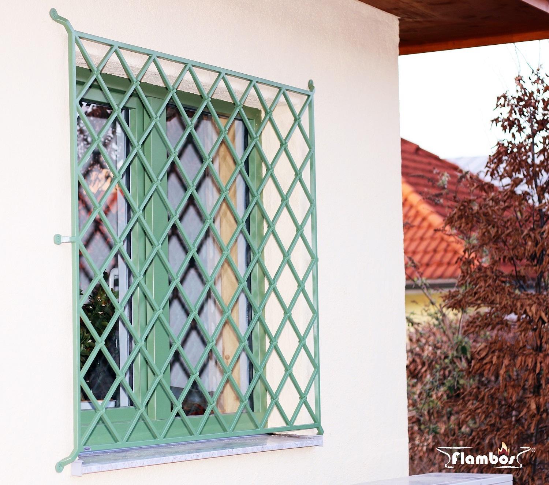 Fenstergitter Grün