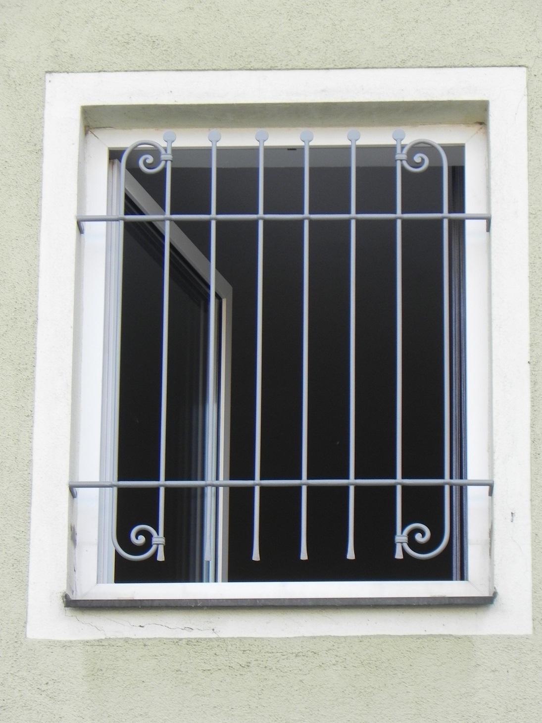 Edelstahl Fenstergitter