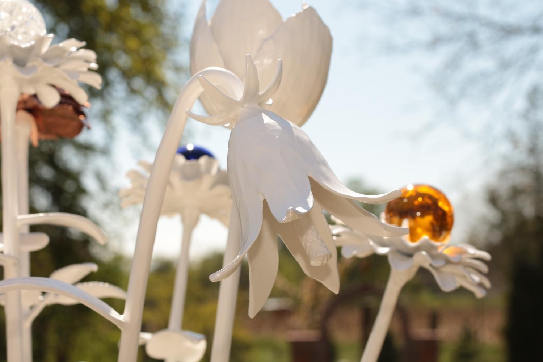 Blüten schmiedeeisern