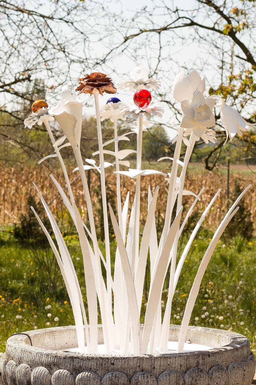Blumen schmiedeeisern