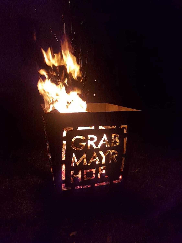 Feuerkorb schmiedeeisern