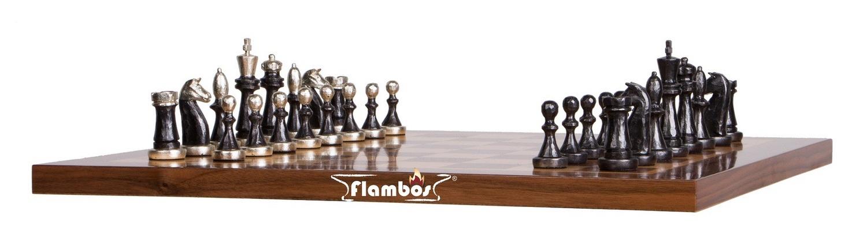 Handgefertigtes Schachbrett