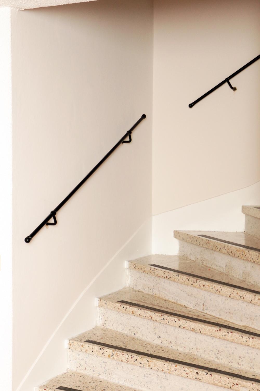Schlichtes Treppengeländer