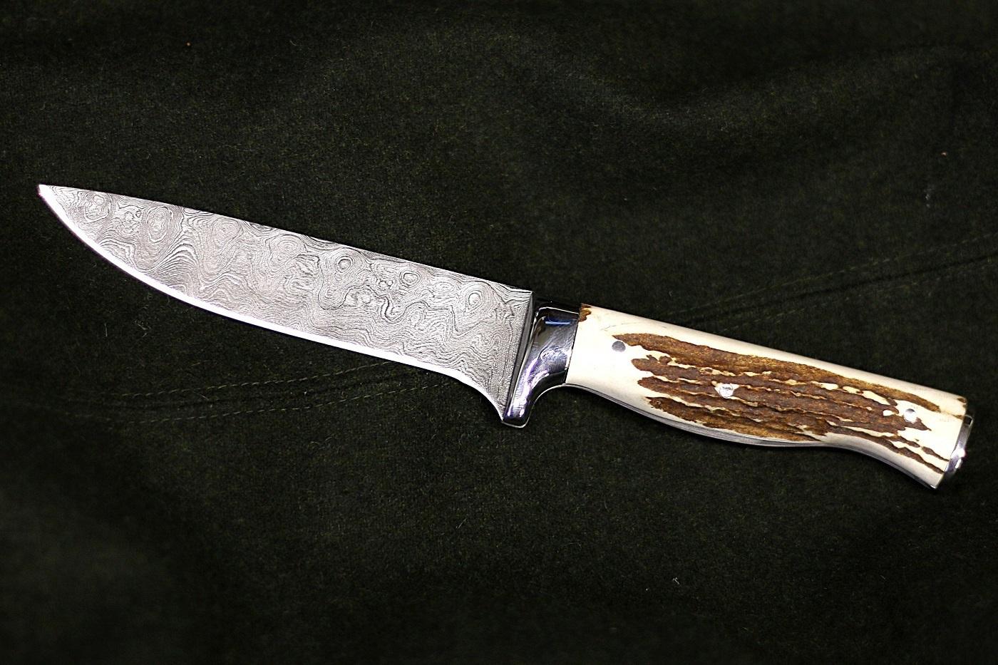 Jagdmesser aus Damast