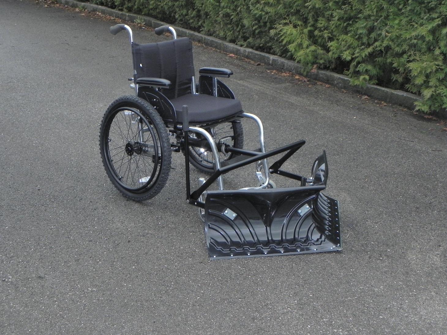 Sonderanfertigungen aus Metall Rollstuhl