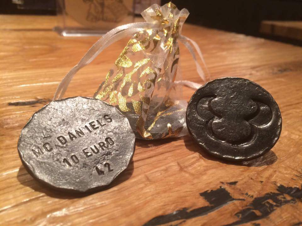 Sonderanfertigungen aus Metall Münze