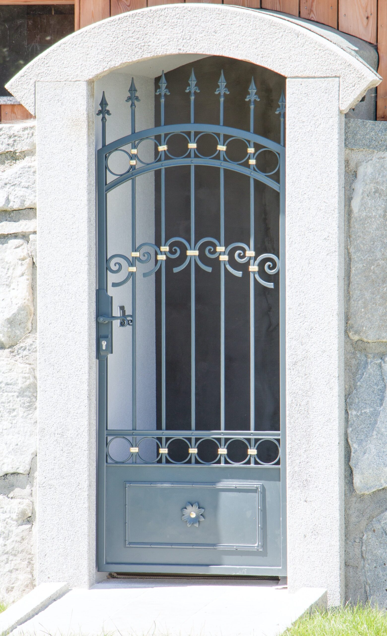 Tür aus Metall
